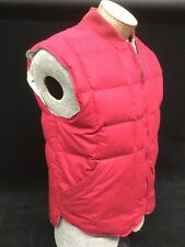 Vintage Pacific Trail Sportswear Duck Down Puffer Vest Red Large Men's