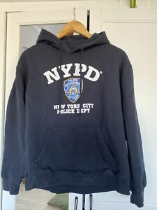 real NYPD hoodie size Small