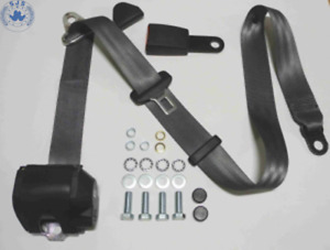 Dreipunkt Automatic Seat Belt for Porsche 911,912, 924,944, 928 And 968, Grey