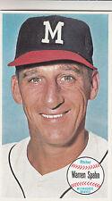 1964 Topps Giants #31  Warren Spahn  (Milwaukee Braves) HOF