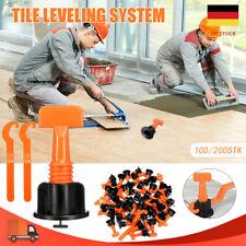 200xFliesen Nivelliersystem Verlegehilfe Verlegesystem Fliesen Verlegen Werkzeug