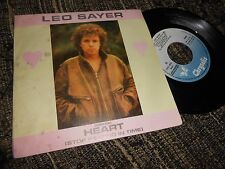 LEO SAYER HEART(STOP BEATING IN TIME)/THE END OF THE GAME 7'' 1982 PROMO SPAIN