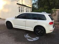 LHD Volkswagen Touareg 6.0 w12 Auto Sport Edition white spares or repairs Export