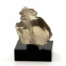 Quartz à Ame (faden quartz). 64.5 ct. Massif du Mont-Blanc, France. Rare.