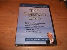 Iceland Health The Omega 3 DVD With Dr Garry Gordon Reduce Stress & Fatigue NEW