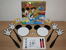 Disney Pictionary - Family Board Game - Mattel 2012 - Excellent Condition - Rare