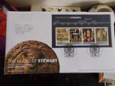 ROYAL MAIL FIRST DAY COVER -HOUSE OF STEWART MINI- WESTLOTHIAN FRANKED 23-3-2010
