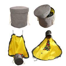 50/150cm Protable Toy Storage Bag Tidy Organizer Waterproof 2 in 1 Kids Play Mat