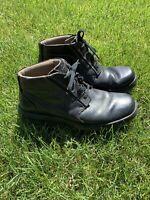 Mens Black Clarks Boots Size 11