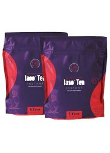 Iaso Tea Instant - 60 Detox Tea Packs Fruit Punch Flavor