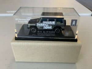 Matchbox Special Mercedes Benz Produced For Leipzig Toy Show 2018 Silver Body