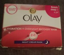 ⭐Olay Hydration + Overnight Recovery Mask 2-In-1 Night Cream Mask - 50ml NEW