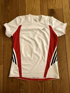 Adidas SUPERNOVA Climacool Red White & Blue Athletic Shirt Small