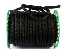Kordel geflochten Ø 10mm in schwarz, Polypropylen 5m