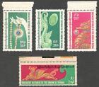 AOP Burma #268-71 1978 Precious Jewelery MNH