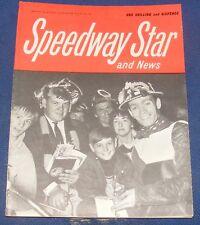 Speedway Star Magazine & News W/E 4th October 1968