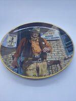 Franklin Mint Limited Edition Western Plates Lot of 6 John Wayne etc