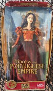 NFRB/Major Box Damage 2002 Dolls of the World-Princess Portuguese Empire Barbie