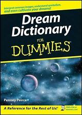Dream Dictionary for Dummies by Penney Peirce (2008, Paperback)