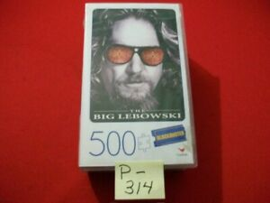 COLLECTIBLE BLOCKBUSTER(VIDEO) THE BIG LEBOWSKI 500 PIECE CARDINAL PUZZLE SEALED
