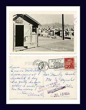 CALIFORNIA SAUSALITO YACHT HARBOR REAL PHOTO 12 JUNE 1958 ROY HOWELL, PIQUA, OH
