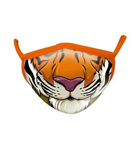 Face Mask Kids Tiger Wild Smiles By Wild Republic