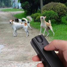 Ultrasonic Aggressive Dog Pet Repeller Training Stop Anti Barking Device Healthy