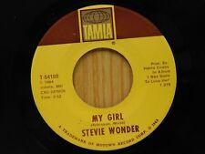 Stevie Wonder 45 My Girl bw You Met Your Match - Tamla M-