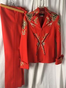 Showtime Design Red Showmanship Outfit Youth Petite adult