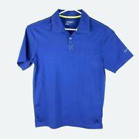 Nike Golf Tour Performance Blue Polo Shirt Size Men's Small