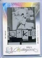2009-10 The Cup Ray Macias Rookie Printing Plate 1/1