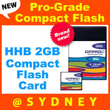 Brand NEW HHB  2GB 80x Pro-Grade Compact Flash Card | CompactFlash
