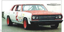 Vintage 1965 Bobby Allison CHEVELLE 300 NASCAR Brochure