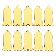 10pcs Gold Plated Metal Truss Rod Cover For Guitar Parts