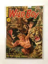 Wild Boy #5 [Ziff-Davis] *VG* 1951 Comic Book MO4-114