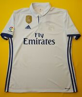4.4/5 Real Madrid jersey large 2016 2017 home shirt S94992 soccer Adidas ig93