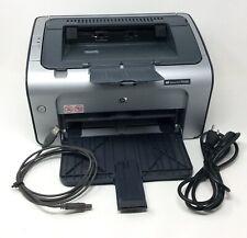 HP LaserJet P1006 Workgroup Laser Printer Hewlett Packard