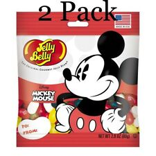 Mickey Mouse Jelly Beans, 2.8 Oz (2 Pack) Free Shipping