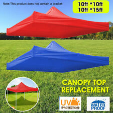 10'x10'/10'x15' Top Canopy Cubierta al Aire Libre Césped Patio Carpa Sombrilla UV Pavilion