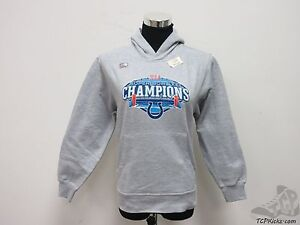 New Reebok Indianapolis Colts Super Bowl XLI Hoodie Sweatshirt Boys M 10/12 Gray