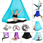 5x2.8m Yoga Swing Aerial Hammock Trapeze Inversion Anti-gravity Kit Large Strong