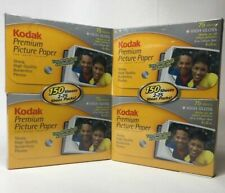 New!! 2 packs Kodak 8898355 Premium Picture Paper High Gloss 4x6.5 150 Sheets