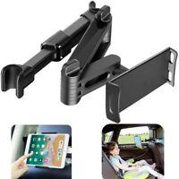 Adjustable 360° Car Headrest Mount Back Seat Mobile Phone Holder Tablet Stand US