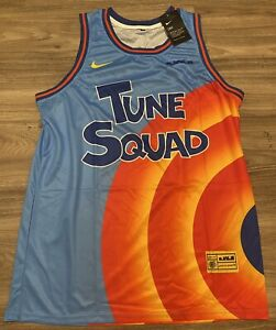 2021 TUNE SQUAD LEBRON JAMES JERSEY #6 Men's Size XL New With Tags