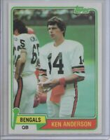 1981 TOPPS KEN ANDERSON  (NM OR BETTER)