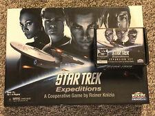 LOT: Star Trek: Expeditions + Expansion Set - WizKids - Complete