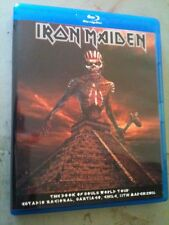 Iron Maiden Concert Blu Ray Chile The Book Of Souls Tour Multi Cam PAL/NTSC