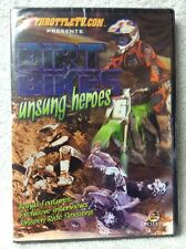 ThrottleTV.com Presents: Dirt Bikes Unsung Heroes DVD Brand New! Sealed!