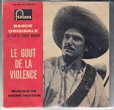 """45 T EP B.O.F (O.S.T)   """"LE GOUT DE LA VIOLENCE"""""""