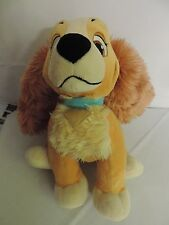 "DISNEY LADY AND THE TRAMP Lady Disney Store Exclusive Lady 12"" Plush Toy"